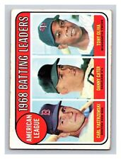 1969 Topps Carl Yastrzemski Danny Carter Tony Oliva Twins Red Sox A's #1 (KCR)