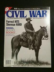 Civil War Magazine of the Civil War Society December 1997 Issue 65 vintage