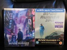 Blade Runner 2049 HDZeta Lenticular + 3D/2D Blu-Ray Steelbook Region Free New