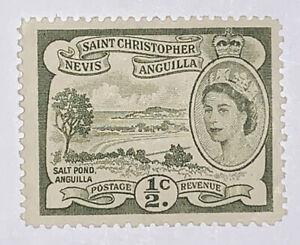 Travelstamps: 1954 St Kitts Nevis Sc #120 Saint Christopher Anguilla MNH OG