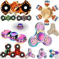 Metal Fidget Spinner Colorful Hand Focus Spinner EDC Fingertip Anti Stress Toys