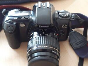Canon EOS 500 35-80 mit Tasche und Zubehör