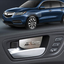 Door Catch Hairline Metal Aluminum Garnish Molding Cover For Acura 2014-2016 MDX