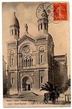 CPA 83 - SAINT RAPHAEL (Var) - 2750. L'Eglise N.-D. de la Victoire (attelage)