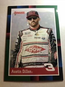 2021 Donruss Austin Dillon Numbered 07/99 1988 Retro