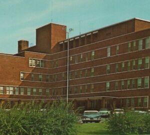 c1960s Mary Washington Hospital Fredericksburg Virginia autos A738