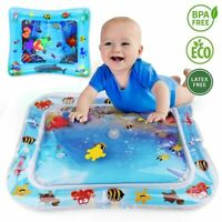 Inflatable Water Pad Baby Ice Pad Toy Toddler Prone Crawling Mat Floor Activity