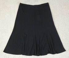 Hand-wash Only Long Solid Plus Size Skirts for Women