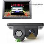 2-in-1 LCD Car SUV Reverse Parking Radar Sensor Car Rear View Backup Camera Kit