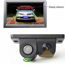 2 en 1 LCD todoterreno Marcha Atrás Aparcamiento Sensor Radar