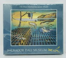 """NEW Salvador Dali Museum 750 Piece Jigsaw Puzzle 19""""×24"""" Melting Watches 1992"""