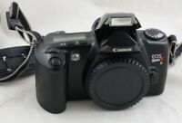 Canon EOS Rebel Xs 35mm SLR FILM Analog camera ONLY TESTED WORKING NO LENS