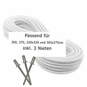 *NEU* Zugseil Seilzug Seil für Sun Garden Ampelschirm 350 375 320x320 365x275cm