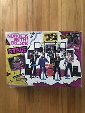 New Kids on the Block Stage Concert Playset Toy Memorabilia