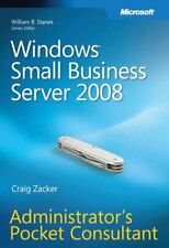 Windows Small Business Server 2008 Administrator's ... by Craig Zacker Paperback