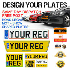 Vehicle Car Number Show Plates