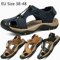 Men's Hiking Fisherman Outdoor Summer Sandals Athtletic Beach Water Shoes Hiking