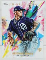 2020 TOPPS INCEPTION Michael Baez RC #18 Rookie Card San Diego Padres