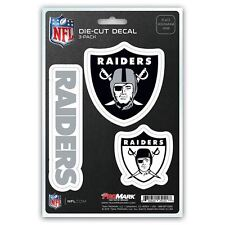 Oakland Raiders Sticker Decal Team Decal - Pack of 3