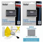 2 Pack Vivitar LP-E6 Battery for Canon EOS Canon EOS R Mirrorless Digital Camera