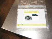 Renault Trafic Drivers Handbook 7/2008 Part Number 8201002548