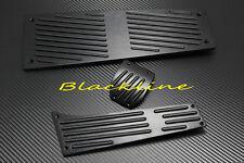 For 06~10 BMW 5 6 Series E60 M5 E63 M6 DCT Auto AT BLK Aluminum Pedal Pedals Set