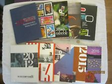 10 Stamp Yearbooks Hardcovers Commemorative United States Postal Service 2000 16