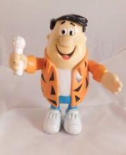1991 the Flintstones Fred Flintstones Rockstar Singer PVC Figure