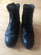 MENS GRAFTERS THINSULATE INSULATION BLACK BOOTS SIZE 6