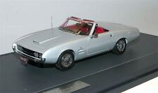 Matrix scale models, 1966 Ghia 450 SS convertible, plata metálica, 1/43