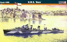 HMS HERO-WW II Royal Navy Destroyer 1/500 mistercraft