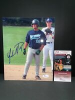 YONDER ALONSO MIAMI HURRICANES/SUMMER LEAGUE AUTOGRAPHED 8X10 PHOTO JSA AA42911