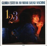 """GLORIA ESTEFAN AND THE MIAMI SOUND MACHINE 123 652958 7 uk epic 1988 7"""" PS EX/EX"""
