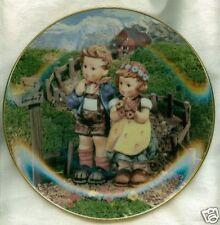 Hummel Danbury Plate Country Crossroads Little Companio