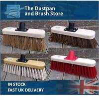 Sweeping Brush Broom Head Chose Soft Stiff Bristles Indoor or Outdoor Yard Brush
