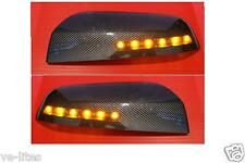 LED Carbon Fiber Mirror Covers for Commodore VF SS SV6 SSV Caprice HSV GTS Maloo