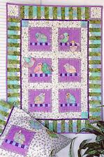 New Crib Quilt and Pillow Sham Pattern  LITTLE BIRDS