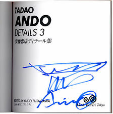 Tadao Ando: Details 3 - Signed with Drawing by Tadao Ando - Pritzker Architect