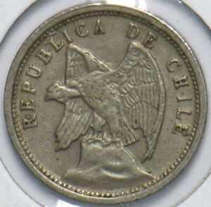 Chile 1928 5 Centavos 192649 combine shipping