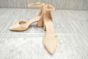 **ALDO Keclya Ankle Strap Heels, Women's Size 10, Bone NEW