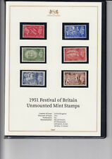 GB-Sg509-514-In Harrington & Byrne folder-MNH + Certificate of authenticity