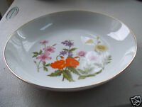 """Rare Fine China Of Japan Wild Flower 7 1/2"""" Soup Cereal Bowl New Mint Condition"""