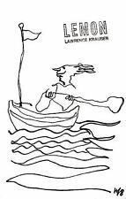 Lemon by Lawrence Krauser (2002, Hardcover)
