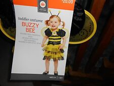 Buzzy Bee Toddler 2T 3T Halloween Costume New NIB Halloween Child Girls