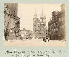 Tchécoslovaquie, Prague, Hôtel de Ville  Vintage silver print Tirage argen