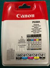 Canon 2078c006 (pgi-580 CLI 581 CMYK) Tintenpatrone Multi Pack, Pack QTY 5 - 207