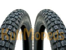 2 Reifen Rad pass. f Simson S51 S50 Duo KR51 Schwalbe Enduro Cross 186 VeeRubber