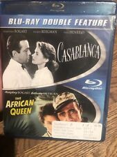 Casablanca/The African Queen (Blu-ray Disc, 2013, 2-Disc Set) Classic Bogart New