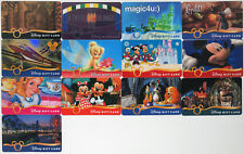 13 Disney Gift Cards 2006-2008: Vault 28, the Monorail, Alice, Lady & Tramp, etc