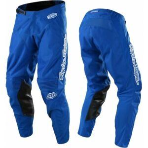 Troy Lee Designs MONO Blue TLD MX GP Motocross Race Pants Adults